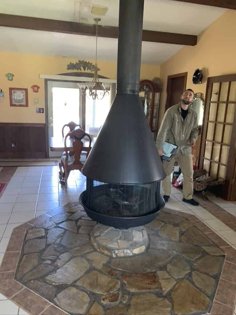 Advanced Fireplace Technician Prefab Inspection Baton Rouge
